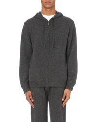 Vince cashmere hoodie womens