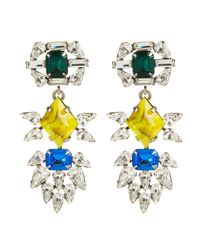 DANNIJO | Metallic Dorothy Earrings | Lyst