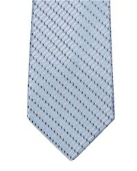 Lanvin | Blue Honeycomb-jacquard Silk Tie for Men | Lyst
