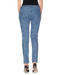 YMC - Blue Denim Trousers - Lyst