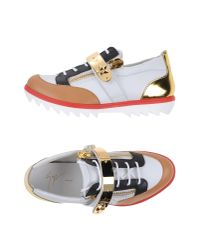 Giuseppe Zanotti | White Low-tops & Sneakers for Men | Lyst