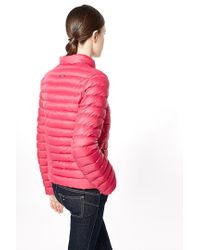 Liu Jo | Red 'munich' Short Quilted Jacket | Lyst