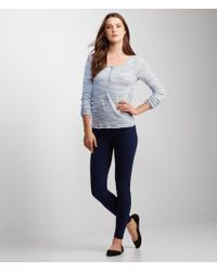 Aéropostale | Blue Cabled Seamless Leggings | Lyst
