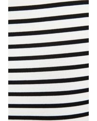 Nicholas - Black Breton Stripe Off The Shoulder Top - Lyst