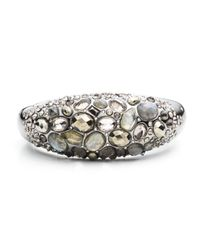 Alexis Bittar | Metallic Cluster Band Hinged Bracelet | Lyst