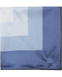Paul Smith | Blue Target Square Pocket Square - For Men for Men | Lyst