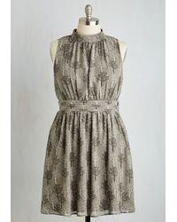 41f2e4b2274 Lyst - East Concept Fashion Ltd Windy City Dress In Autumnal Grove ...