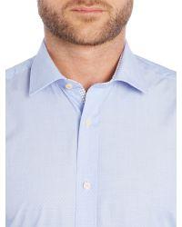 Ted Baker | Pink Licatch Polka Dot Slim Fit Formal Shirt for Men | Lyst