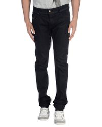 DIESEL Darron Regular-fit Tapered Jeans Blue for men