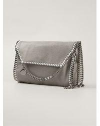 Stella McCartney Gray Falabella Faux-Leather Cross-Body Bag