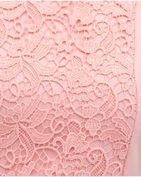 Zara | Pink Combined Dress | Lyst