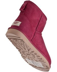 UGG | Purple Classic Mini Boot Sangria Suede | Lyst