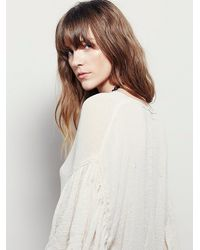 Free People - Natural Takin My Time Top - Lyst