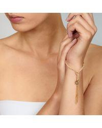 Carolina Bucci - Yellow Gold Peace Bracelet - Lyst