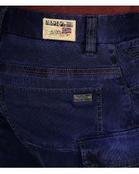 Napapijri | Blue Cargo Pants for Men | Lyst