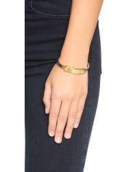 Marc By Marc Jacobs - Blue Standard Supply Hinge Cuff Bracelet - Garnet - Lyst