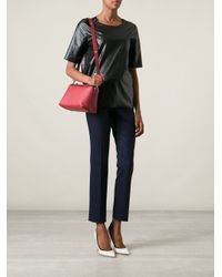 Fendi - Red By The Way Leather Shoulder Bag - Lyst