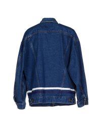Harvey Faircloth Blue Denim Outerwear