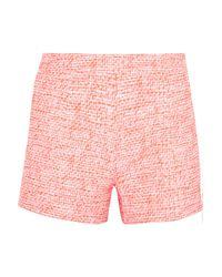 Raoul Pink Jacquard Shorts
