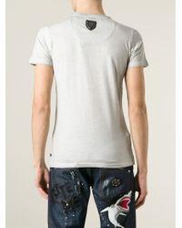 Philipp Plein - Gray Promises T-Shirt for Men - Lyst