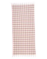Standard Form - Pink Neo Window Pane Scarf - Lyst