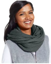 Style & Co. | Gray Style&co. Super Fleece Loop Scarf | Lyst