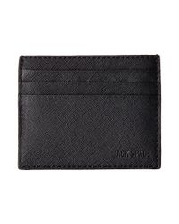 Jack Spade | Black Barrow Leather Six Card Holder for Men | Lyst