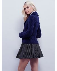 Free People | Blue Viceroy Cardi | Lyst