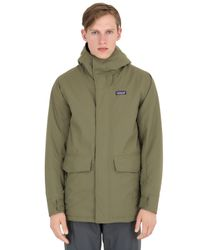 Patagonia Green Insulated Stormdrift Parka for men