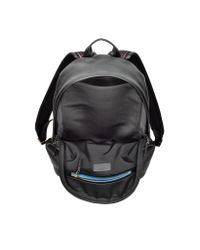 Paul Smith - City Webbing Black Leather Backpack - Lyst