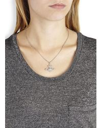 Vivienne Westwood | Metallic Isolde Bas Relief Orb Necklace | Lyst