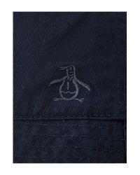 Original Penguin | Blue Reversible Floral Bucket Hat for Men | Lyst