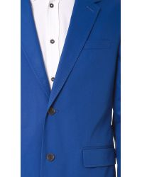 Marc By Marc Jacobs | Blue Harvey Twill Suit Jacket for Men | Lyst