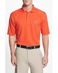 Cutter & Buck | Blue 'chicago Bears - Genre' Drytec Moisture Wicking Polo for Men | Lyst