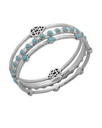 Lucky Brand | Blue Gifting Bracelet Turquoise Bangle Set | Lyst
