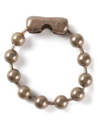 MM6 by Maison Martin Margiela - Metallic Beaded Bracelet - Lyst