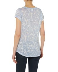 Inwear | Blue Vuzima Print Tshirt | Lyst
