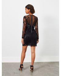 Miss Selfridge Black Joan Bodycon Dress