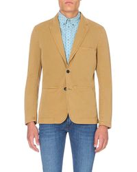 Paul Smith | Natural Single-breasted Cotton Jacket - For Men for Men | Lyst
