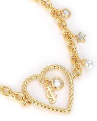 Juicy Couture | Metallic Charm School Bracelet | Lyst