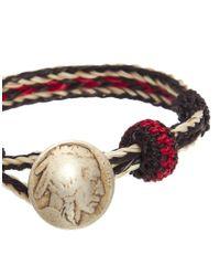 Chamula | Red Concho Bracelet for Men | Lyst