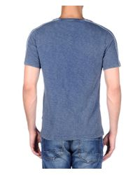 Napapijri | Gray Short Sleeve T-shirt for Men | Lyst