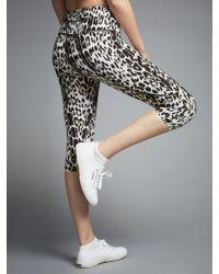 Varley Multicolor Pico Leopard Print Running Tights
