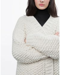 Wool And The Gang | White Live Forever Cardigan | Lyst