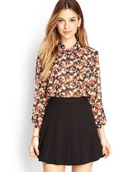 Forever 21 | Nature-inspired Floral Shirt | Lyst