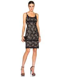 Diane von Furstenberg Black Olivia Dress
