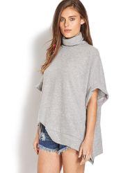 Forever 21 - Gray Gallery Girl Sweater - Lyst