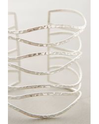 Anthropologie - Metallic Clustered Crest Cuff - Lyst