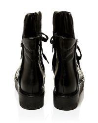 Moda In Pelle Black Calmia Low Casual Short Boots