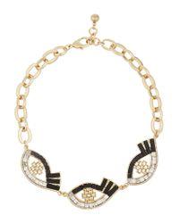 Lulu Frost | Metallic Lumen Gold-plated Multi-stone Necklace | Lyst